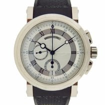 Breguet Marine Chronograph 18K Solid White Gold