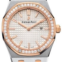 Audemars Piguet 67651SR.ZZ.1261SR.01 Royal Oak Quartz Ladies...