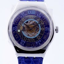 Swatch Trésor Magique Automatik Limited Edition in Platin ca.1993