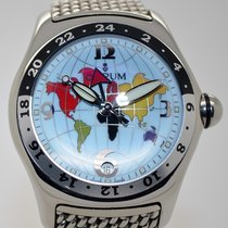 Corum Bubble GMT limited Edition, Ref. 383.150.20, Bj. 2007