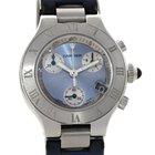 Cartier Must 21 Chronoscaph Ladies Watch W1020013