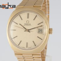 Omega Automatic Yellow Gold 18K 36mm Caliber 1012