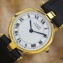 Cartier Ladies Must De Cartier Swiss Made 925 Silver And Gold...
