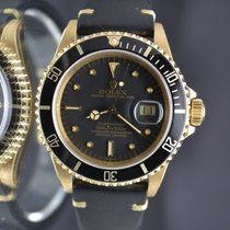 Rolex Submariner 16808 Solid 18k Gold untouched Dial