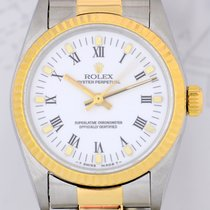 Rolex Medium Oyster Perpetual Lady Oysterband 31mm Stahl-Gold
