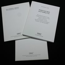 IWC kit portofino automatic ref.3565booklet papers warranty card
