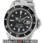 Rolex Submariner Stainless Steel Matte Black T Swiss Dial...