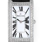 Maurice Lacroix Fiaba 18k White Gold & Diamond Ladies Watch
