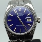 Rolex DATEJUST 36MM AUTOMATIC RARE BLUE DIAL
