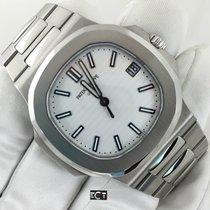 Patek Philippe Nautilus Stainless Steel White Dial