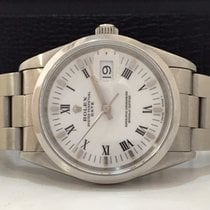 Rolex Oyster Perpetual Date White 34mm Completo