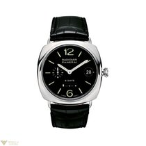 Panerai Radiomir 8 days 45mm Stainless Steel Leather Men`s Watch