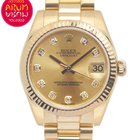 Rolex Datejust Gold and Diamonds