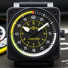 Bell & Ross BR 01 AIRSPEED Black PVD Limited