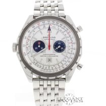 Breitling Chono-Matic 44MM Automatic Chronograph Steel Watch...