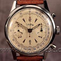 Vetta Vintage Waterproof- Style 38mm Steel Chronograph Cal....