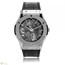 Hublot Classic Fusion Extra-thin Skeleton Titanium Men's...