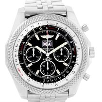 Breitling Bentley 6.75 Speed Chronograph Black Dial Mens Watch...