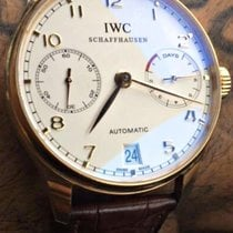 IWC Portuguese Rose Gold 7 Day Power Reserve 42mm Ref. IW500113