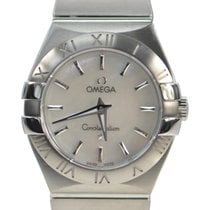 Omega Constellation Stainless Steel White Quartz 123.10.27.60....