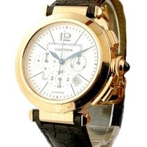 Cartier Pasha 42mm Chronograph Automatic in Rose Gold