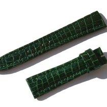 Chopard Croco Band Strap Green 17 Mm 65/105 New C17-02 -70%