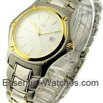 Ebel 187902 1911 2-Tone in Steel and Yellow Gold Bezel - on...