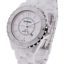 Chanel H2981 J12 42mm Automatic in White Ceramic H2981 - on...