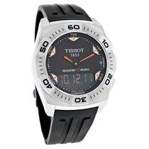 Tissot Racing-Touch Mens Rubber Strap Quartz Watch T002.520.17...