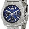 Breitling Chronomat B01 Blue Dial Automatic Chronograph Mens...