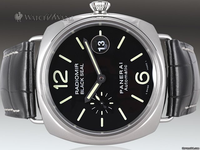 Panerai PAM 287 J - Radiomir Black Seal Automatic - 45mm Stainless Steel - Boxes/Papers 100% Complete &amp;amp; As-New