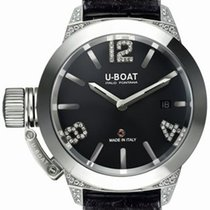 U-Boat Classico 40 White Diamonds