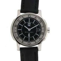Bulgari Solo Tempo D61031 In Steel And Leather, 28mm