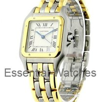 Cartier 2 Tone Panther Mid Size
