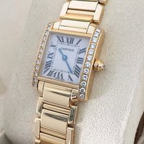 Cartier Tank Francaise Lady Yellow Gold Diamonds 18 krt (26 x...