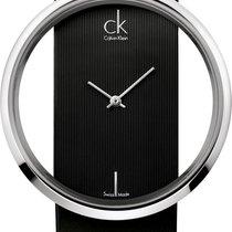 ck Calvin Klein Glam K9423107 Elegante Damenuhr Durchbrochenes...