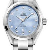 Omega 23110342057002 Seamaster Automatic Diamonds Ladies