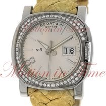 Bedat & Co No. 3 Automatic, Silver Index Dial, Diamond...