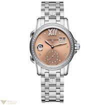 Ulysse Nardin Dual Time Diamonds Stainless Steel Women`s Watch