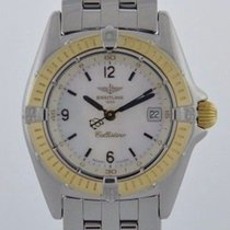 Breitling CALLISTINO MOTHER OF PEARL DIAL STEEL & 18K GOLD...