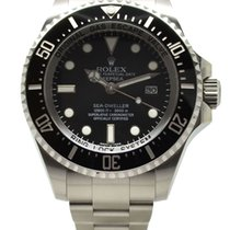 勞力士 (Rolex) Deepsea Stainless Steel Watch 44mm Black Dial...