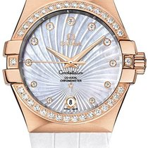 Omega Constellation Women's Watch 123.58.35.20.55.003