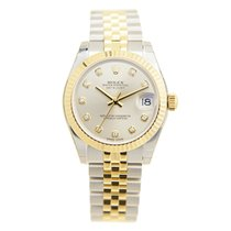 Rolex Lady Datejust Gold And Steel Silver Automatic 178273GSV_J