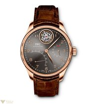 IWC Portuguese Tourbillon Mystere Retrograde Red Gold 18K...