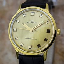 Movado Temo Matic 14k Gold Swiss Made Mens 1960s Automatic...