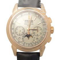 Patek Philippe New  Grand Complications 18k Rose Gold White...