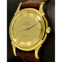 Omega   Constellation Pie Pan Yellow Gold 18 Kt