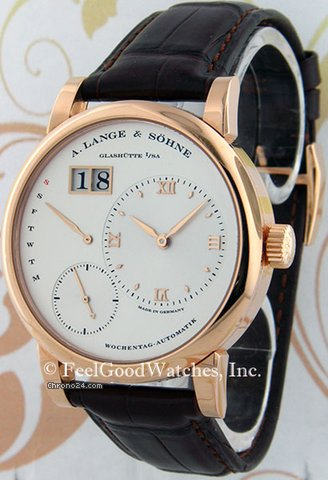 A. Lange &amp;amp; Shne 320.032 Lange 1 Daymatic, Red Gold