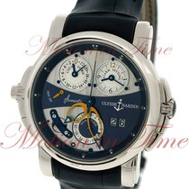 Ulysse Nardin Sonata Cathedral Dual Time, Blue Dial - White...