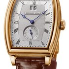 Breguet Heritage Silver Dial 18kt Rose Gold Brown Leather...